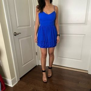 Cobalt blue Greylin dress